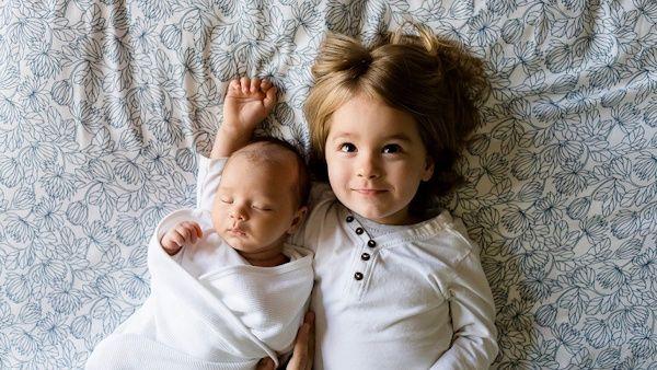 Skora noworodka niemowlecia dziecka