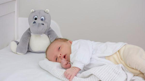 Spokojny sen niemowlaka
