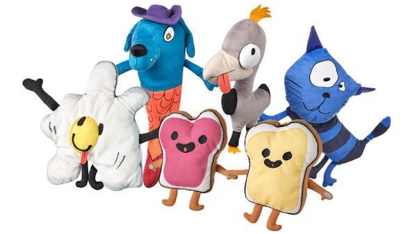 Zabawki malych projektantow