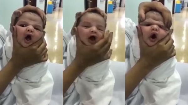 Pielegniarki bawily sie kosztem noworodka