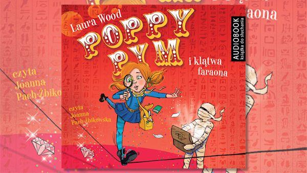 Poppy pym klatwa faraona audiobook
