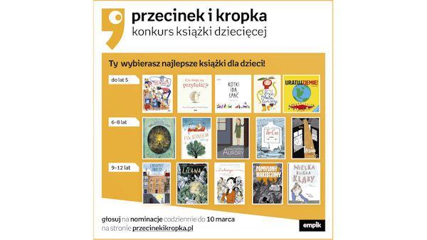 Przecinek kropka2019 nominacje