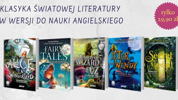 Klasyka literatury dzieciecej po angielsku