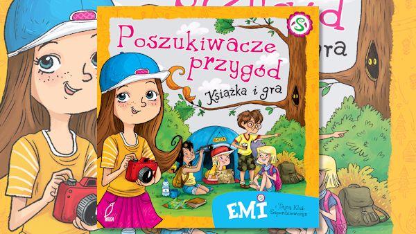 Emi poszukiwacze przygod ksiazka gra