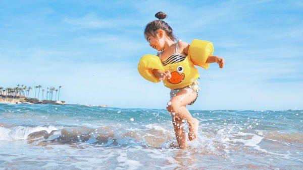 Bezpieczne lato dziecko