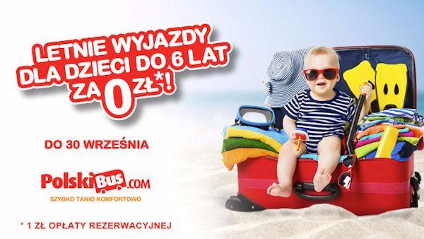 Polski bus dzien dziecka