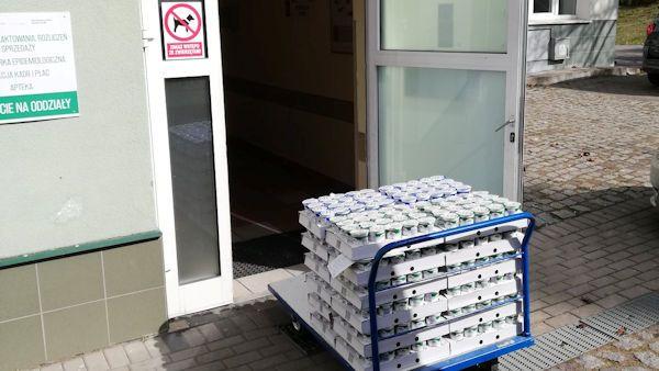 Milkpol wspiera szpitale