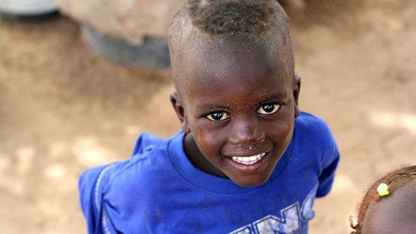 Senegalskie dzieci slask